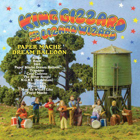 KING GIZZARD AND THE LIZARD WIZARD - Paper Mâché Dream Balloon (2015)
