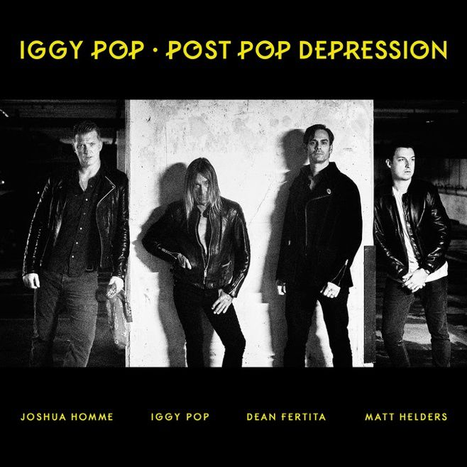 IGGY POP AND JOSH HOMME - Post Pop Depression (2016)