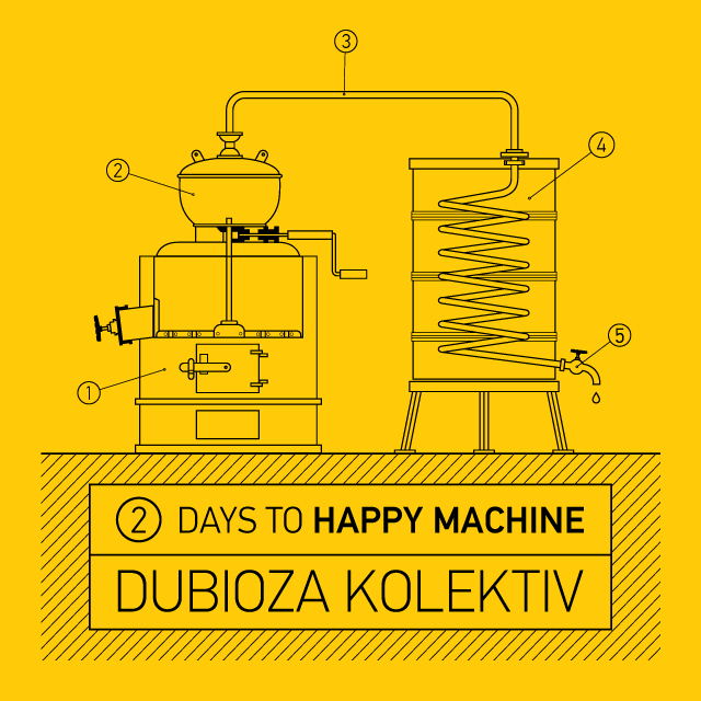 DUBIOZA KOLEKTIV - Happy Machine (2016)