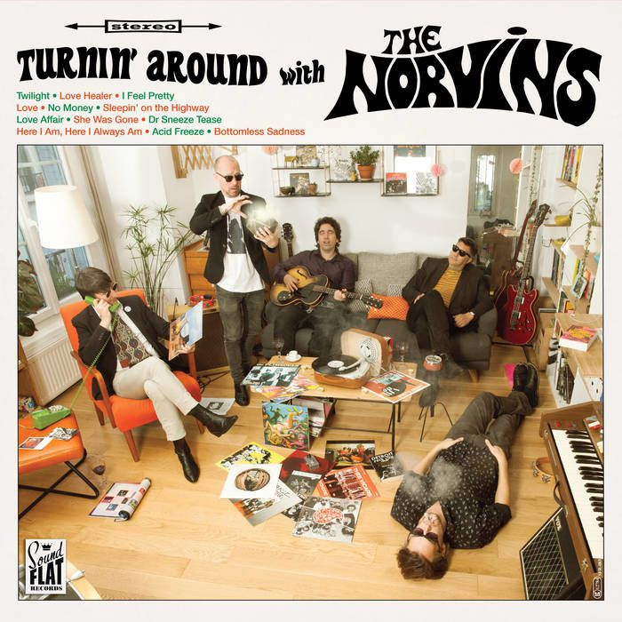 THE NORVINS - Turnin' Around With The Norvins (2017)
