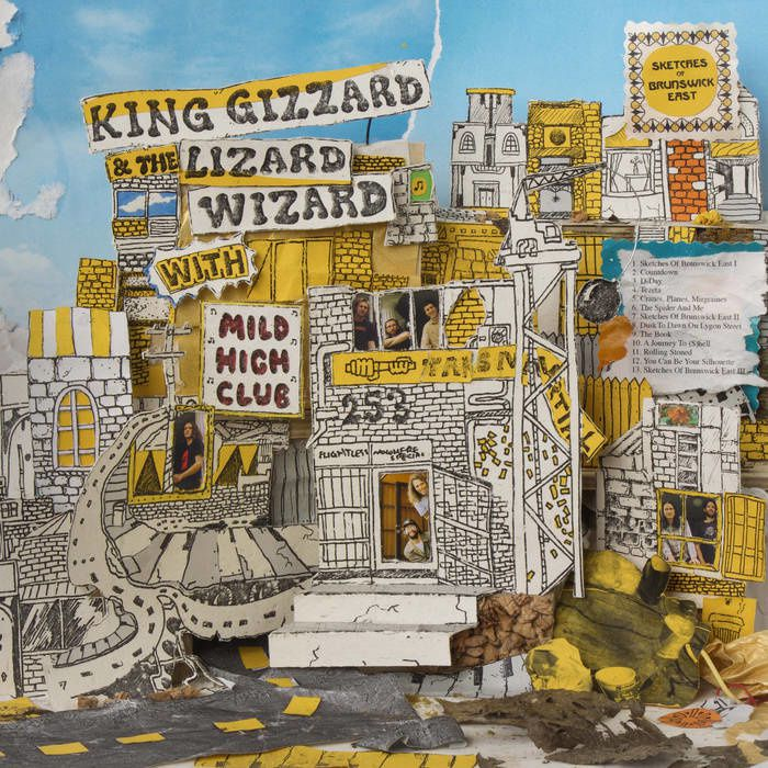 KING GIZZARD AND THE WIZARD LIZARD WITH MILD HIGH CLUB - Sketches Of Brunswick East (2017)