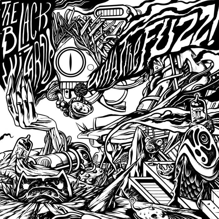 THE BLACK WIZARDS - What the Fuzz ! (2017)