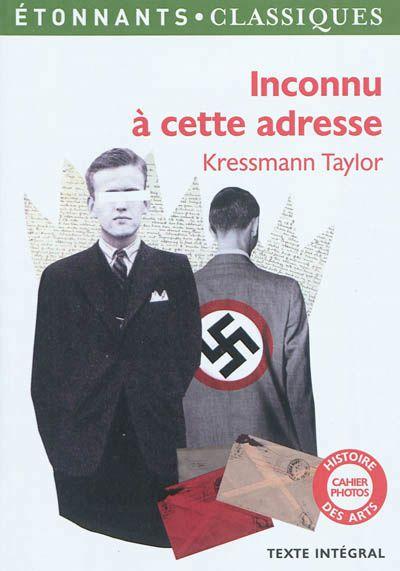 Inconnu à cette adresse, de Kathrine Kressmann Taylor
