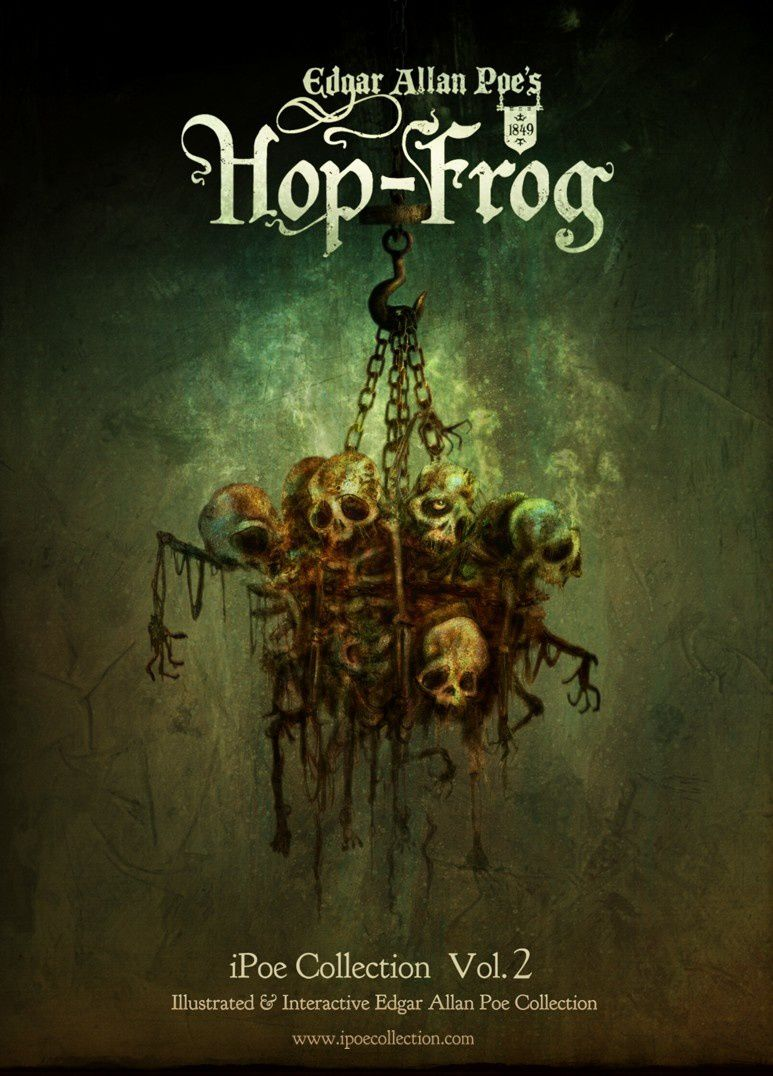 analysis of hop frog by edgar allen A critical commentary on poe's short story 'hop-frog', like many of edgar allan  poe's best stories, carries the force of parable it is a curious.