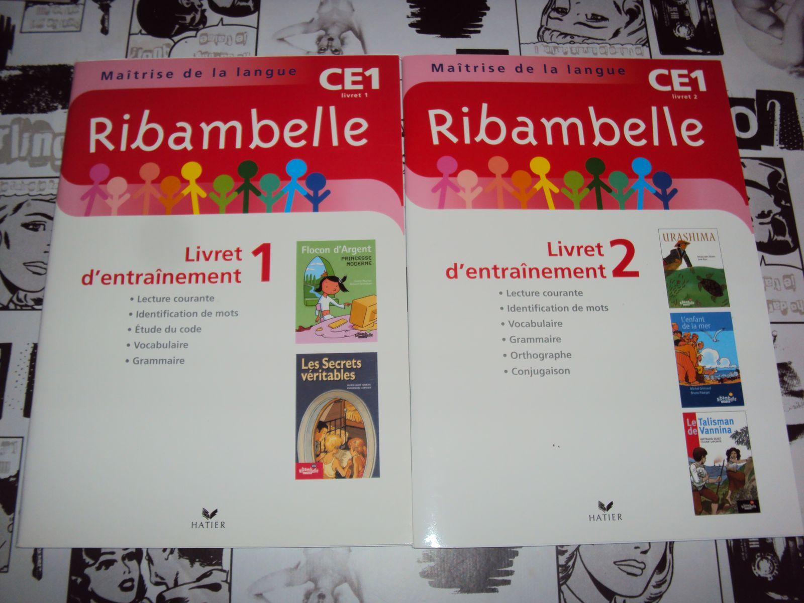 Collection Ribambelle CP et CE1 APPRENTISSAGE DE LA LECTURE