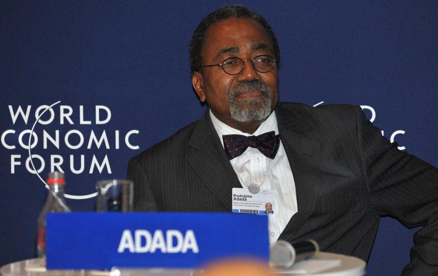 Le Docteur en Mathématiques Rodolphe Adada, ministre des gouvernement du dictateur Sassou Nguesso pendant 30 ans et nouvellement ambassadeur du Congo Brazzaville en France, Paris...