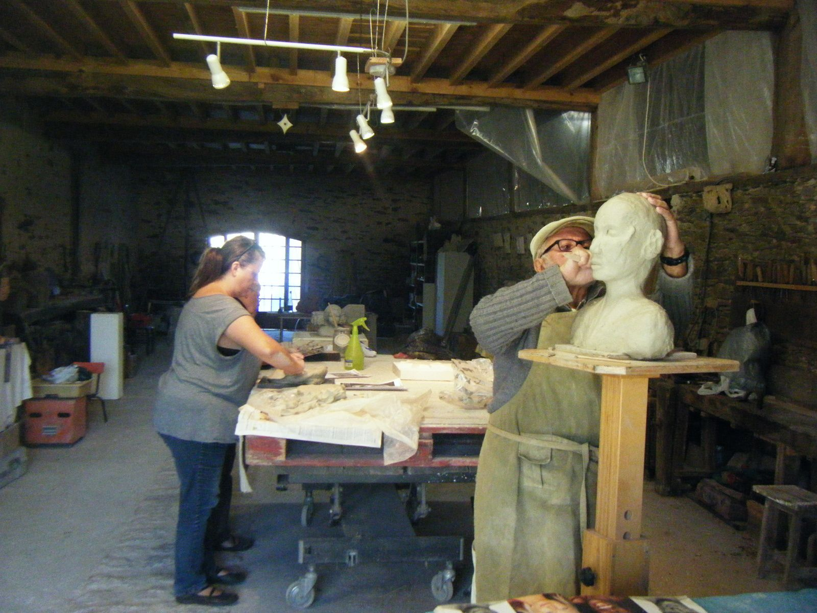 cours 2016 / 2017 Atelier modelage