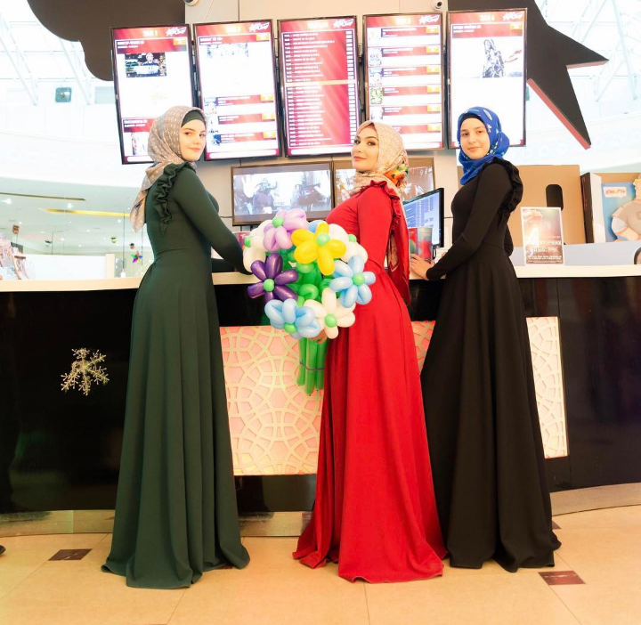 ♡ لفات الحجاب الشيشانية / чеченский хиджаб 2017 ♡