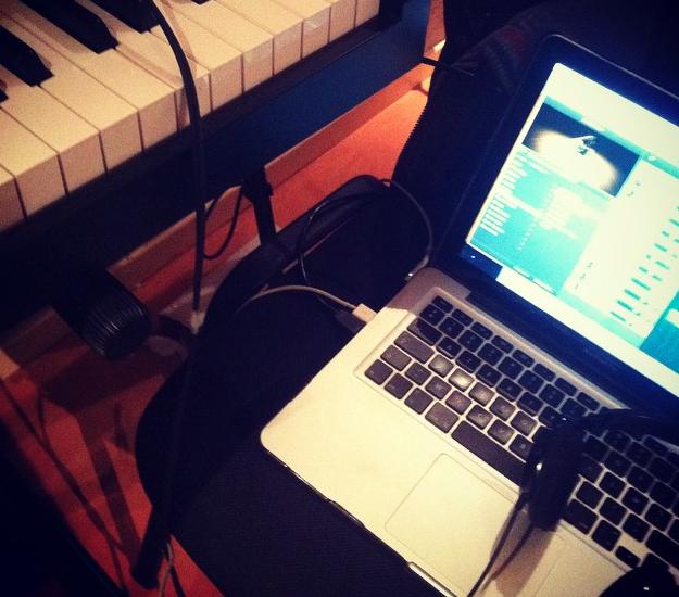 Une photo de instagram @paulvideos . Préparation de maquette pour prochaine composition
