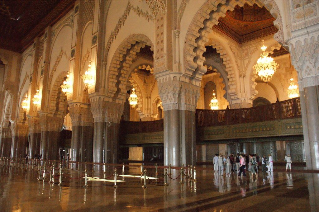 2014 balades marocaines 1 for Mosquee hassan 2 interieur