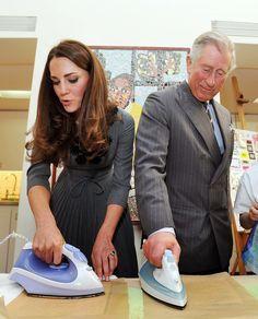 Kate en mission avec son beau père