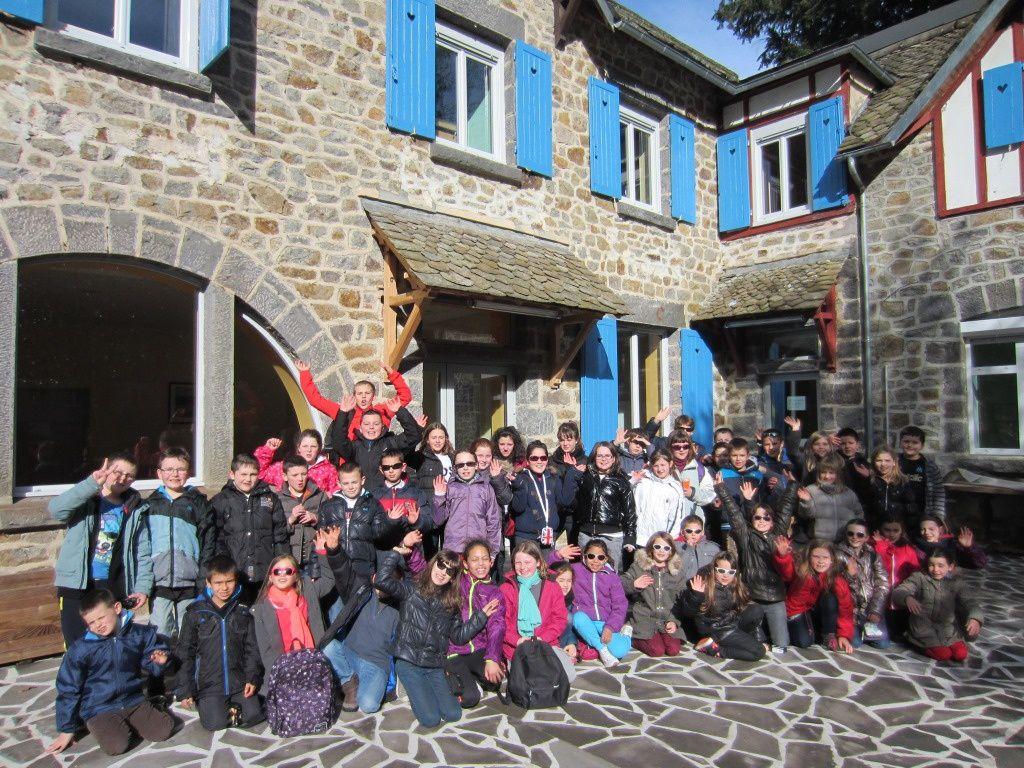 Voyage en Auvergne - journée du lundi