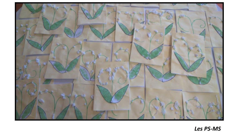 En ce 1er mai, voici quelques brins de muguet porte-bonheur !