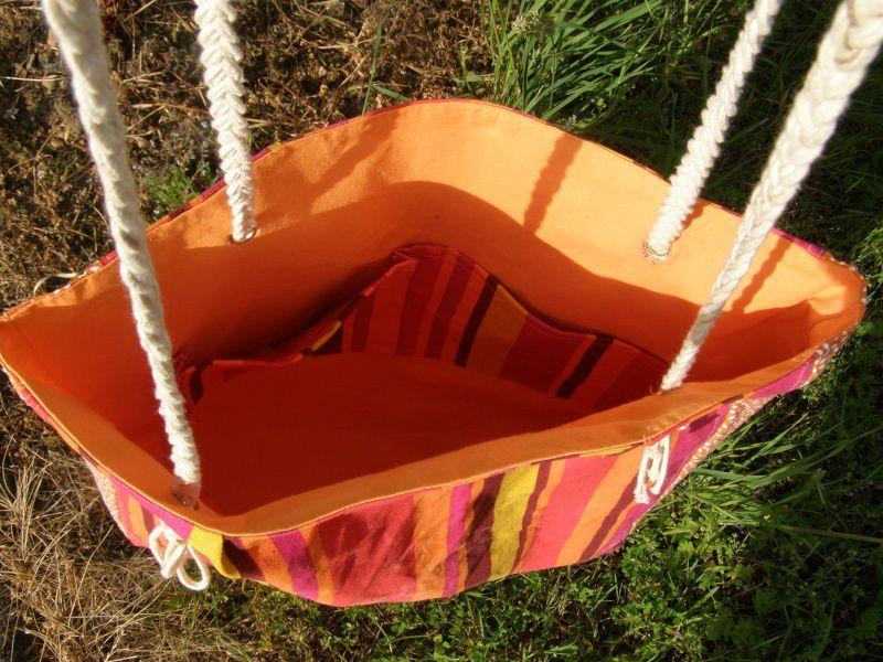 Je réalise un sac pour la plage