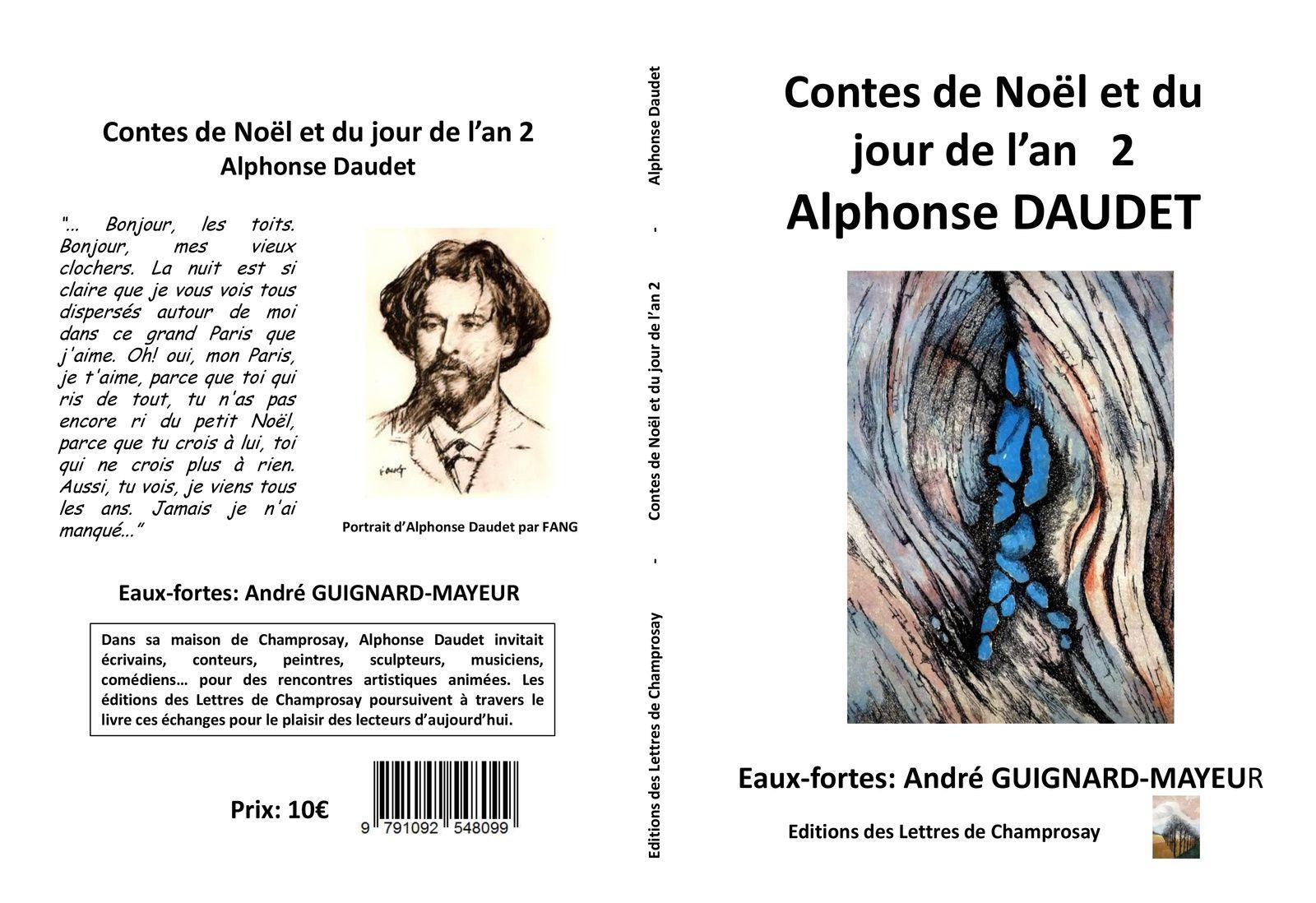 Parution:&quot&#x3B;contes du noël et du jour de l'an&quot&#x3B; de Daudet