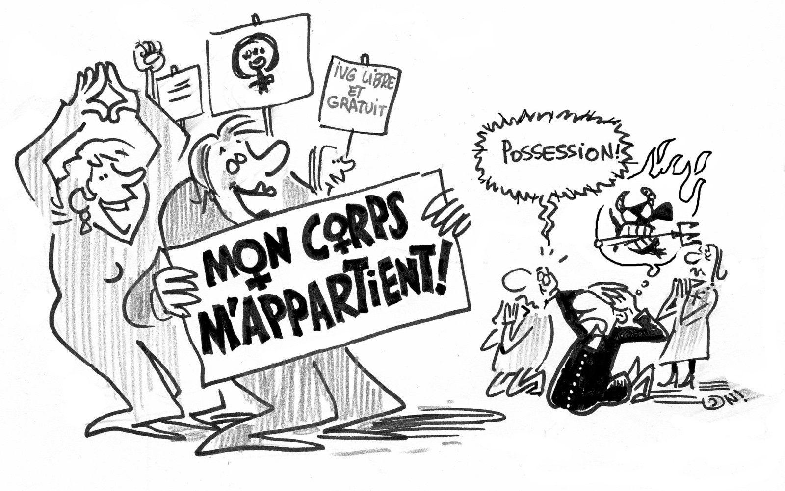 Manif pour la défense du droit à l'IVG - 01/02 15h30 Place Pasteur à Besançon