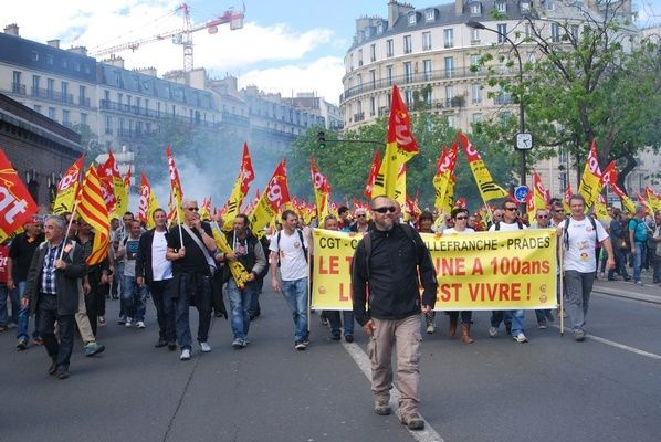 Manif nationale des cheminots (suite)