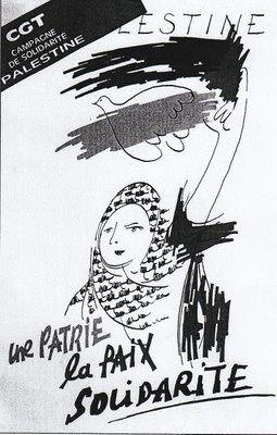 Les cheminots CGT solidaires avec la Palestine
