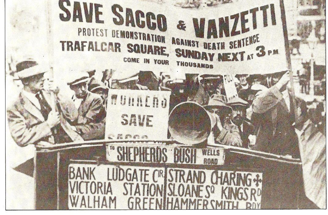 23 août 1927: la chaise électrique pour Sacco et Venzetti