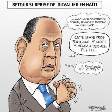 Jean-Claude Duvalier ex-dictateur de Haïti, mort dans son lit à Haïti