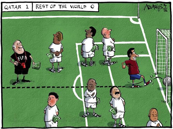 La FIFA lave toujours plus blanc que blanc