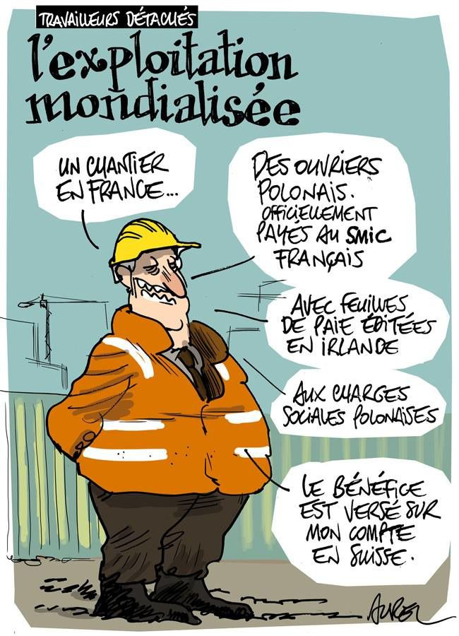 Des travailleurs détachés en France payés 2, 22 euros de l'heure