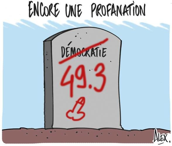 Loi Macron, 49-3, motion de censure, etc.