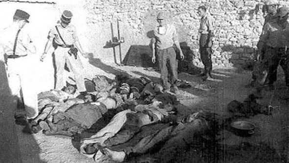 Les massacres du 8 mai 1945 en Algérie. DR.