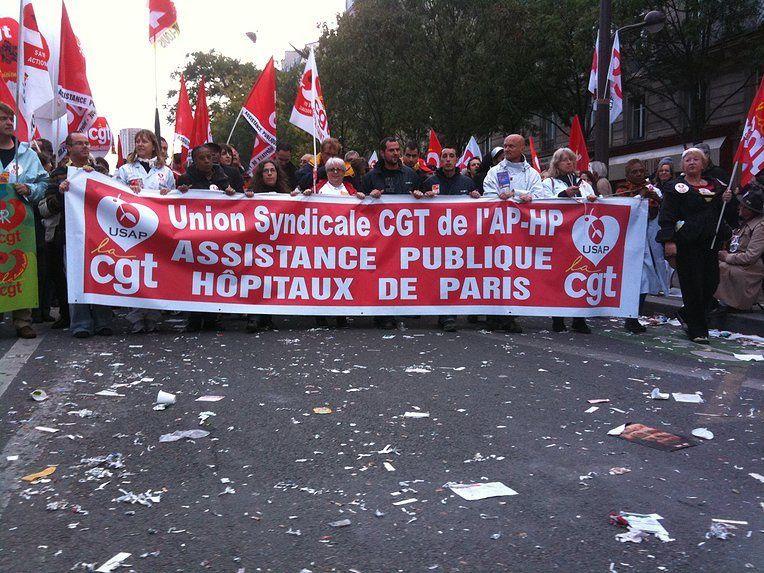 Mise au point de la CGT Assistance Publique-Hôpitaux de Paris
