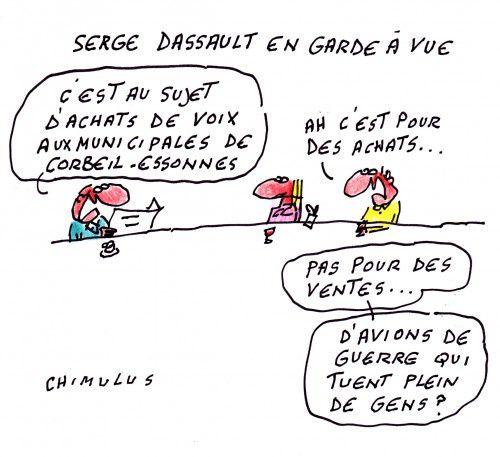 Serge Dassault toujours à fond la forme!