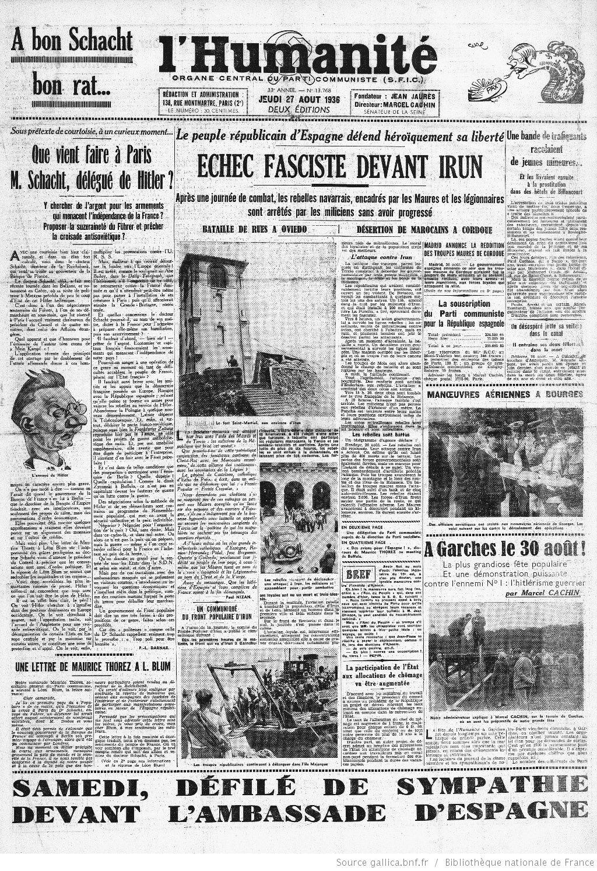 Le PCF et Mein Kampf à l'été 1936