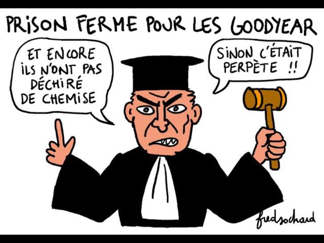 La CGT Goodyear répond m.... à Emmanuel Macron
