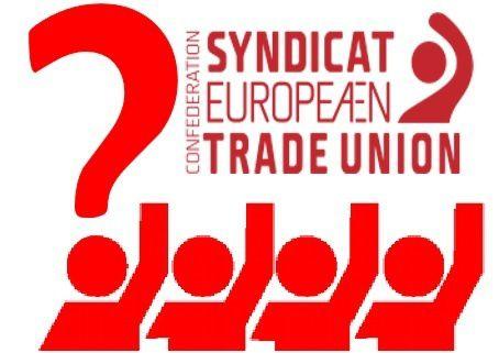 Vous n'avez pas vu Mirza, pardon, la CES pour Confédération syndicale européenne?