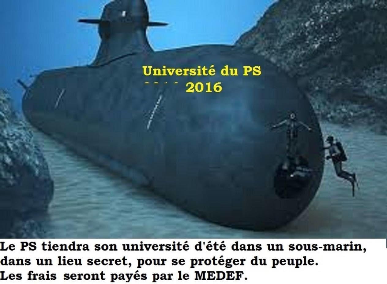 Top secret: l'université d'été du PS se tiendra bien!