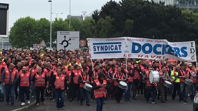 Le Havre, 31 août 2016: 2 syndicalistes de la CGT arrêtés à l'aube comme de grands criminels