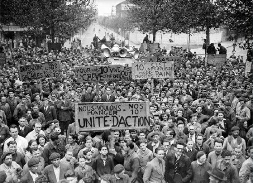 Le 5 mai 1947, les ministres communistes sont chassés du gouvernement