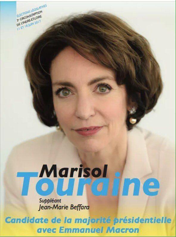Trouvez l'erreur: investie par le PS pour être à nouveau députée, Marisol Touraine se rallie à Emmanuel Macron