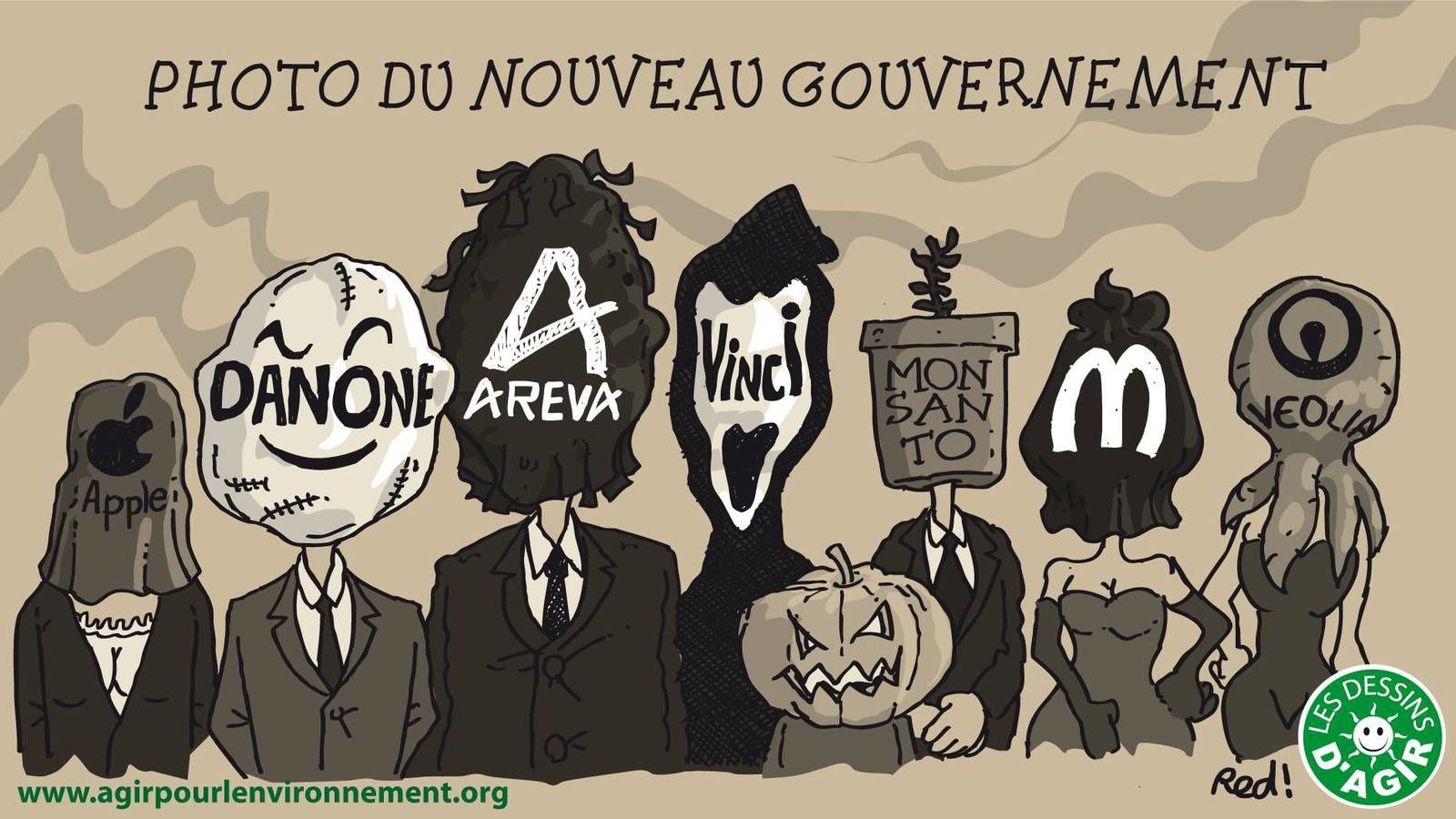 Le nouveau gouvernement de droite et de droite