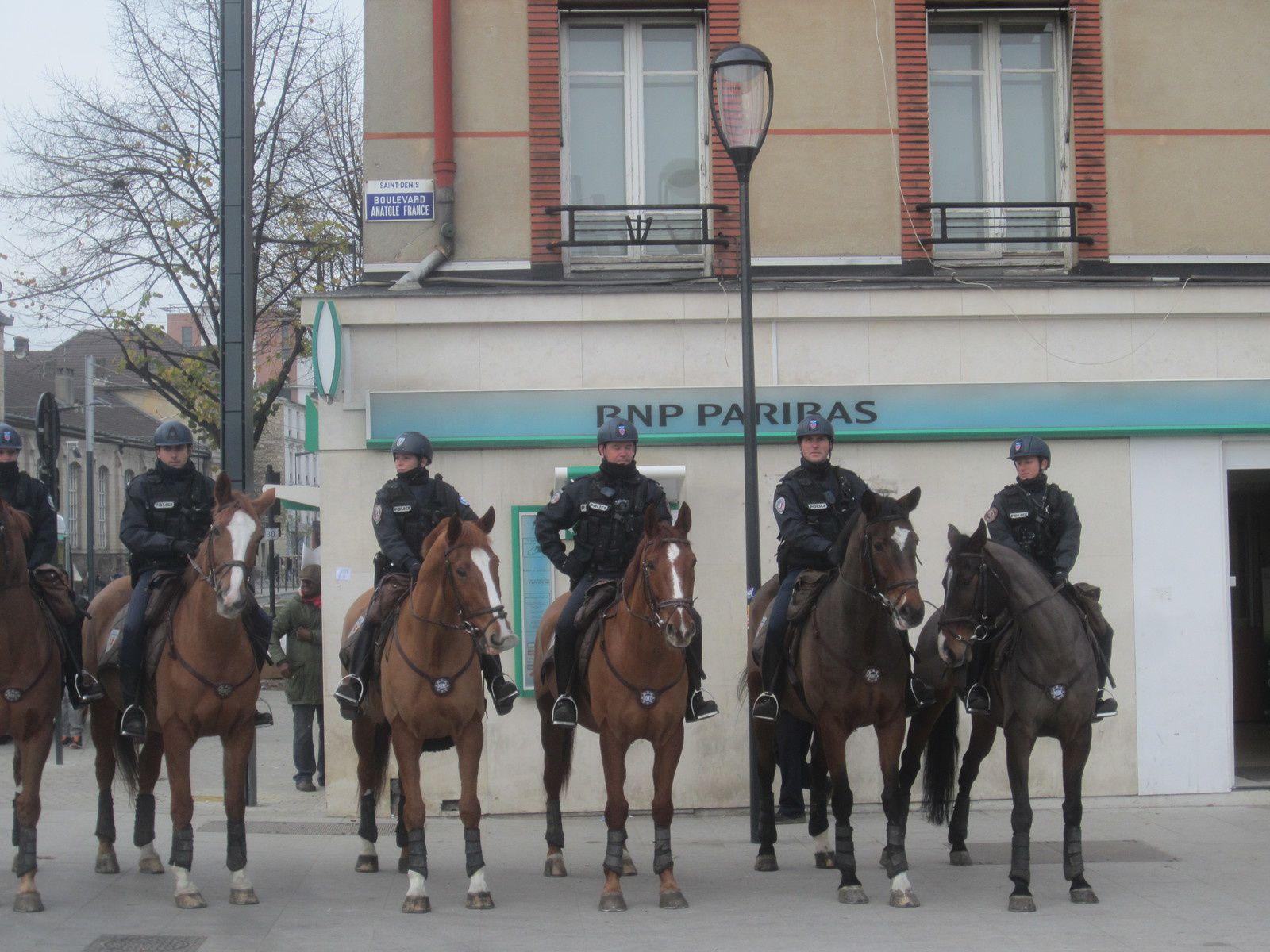 Mobilisation éducation jeudi 20 à Saint-Denis : les photos