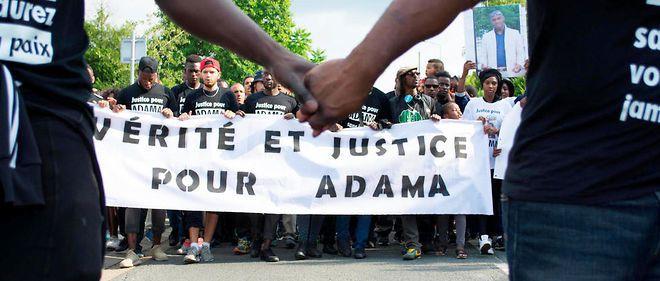Grande marche pour Adama Traoré, samedi 5 novembre. Faisons front contre l'impunité ! Sans justice vous n'aurez pas la paix !
