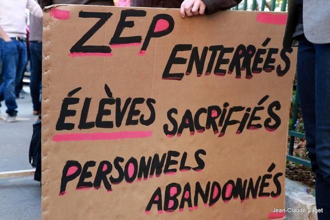 La nuit de la ZEP lundi 9 janvier à Saint-Denis
