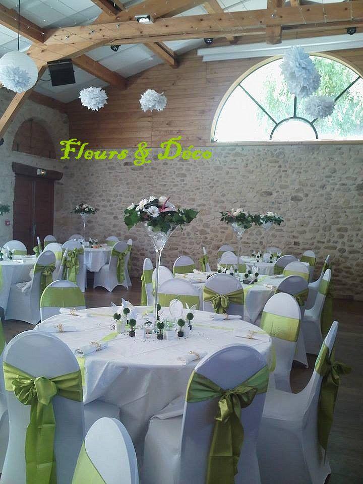 Décorations de tables romantique