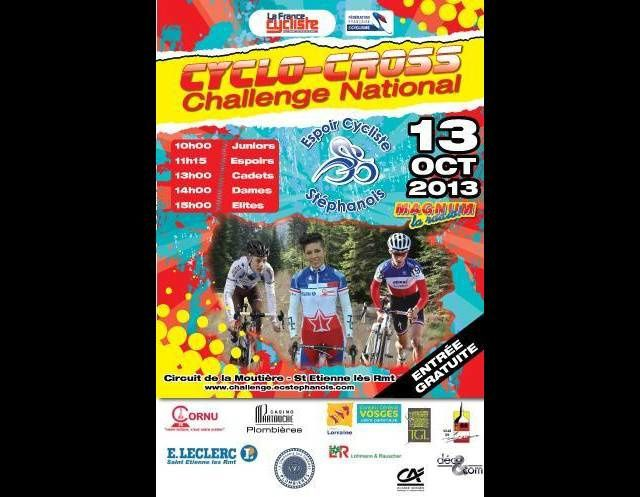 1er manche challenge national de cyclo-cross