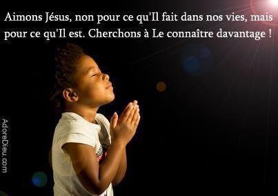 """Jésus-Christ est la Justice, la Sainteté. Son """"faire"""" découle de Son """"Etre"""" - et Notre """"faire"""" découle tout autant de Son """"Etre""""."""