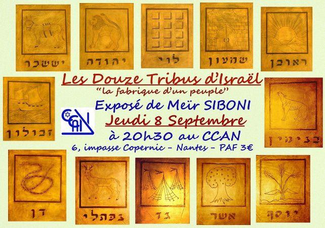 Exposé sur &quot&#x3B;Les 12 Tribus d'Israël&quot&#x3B; par Méir Siboni