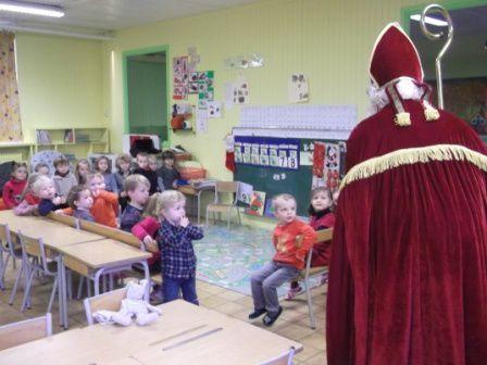 La visite de Saint - Nicolas