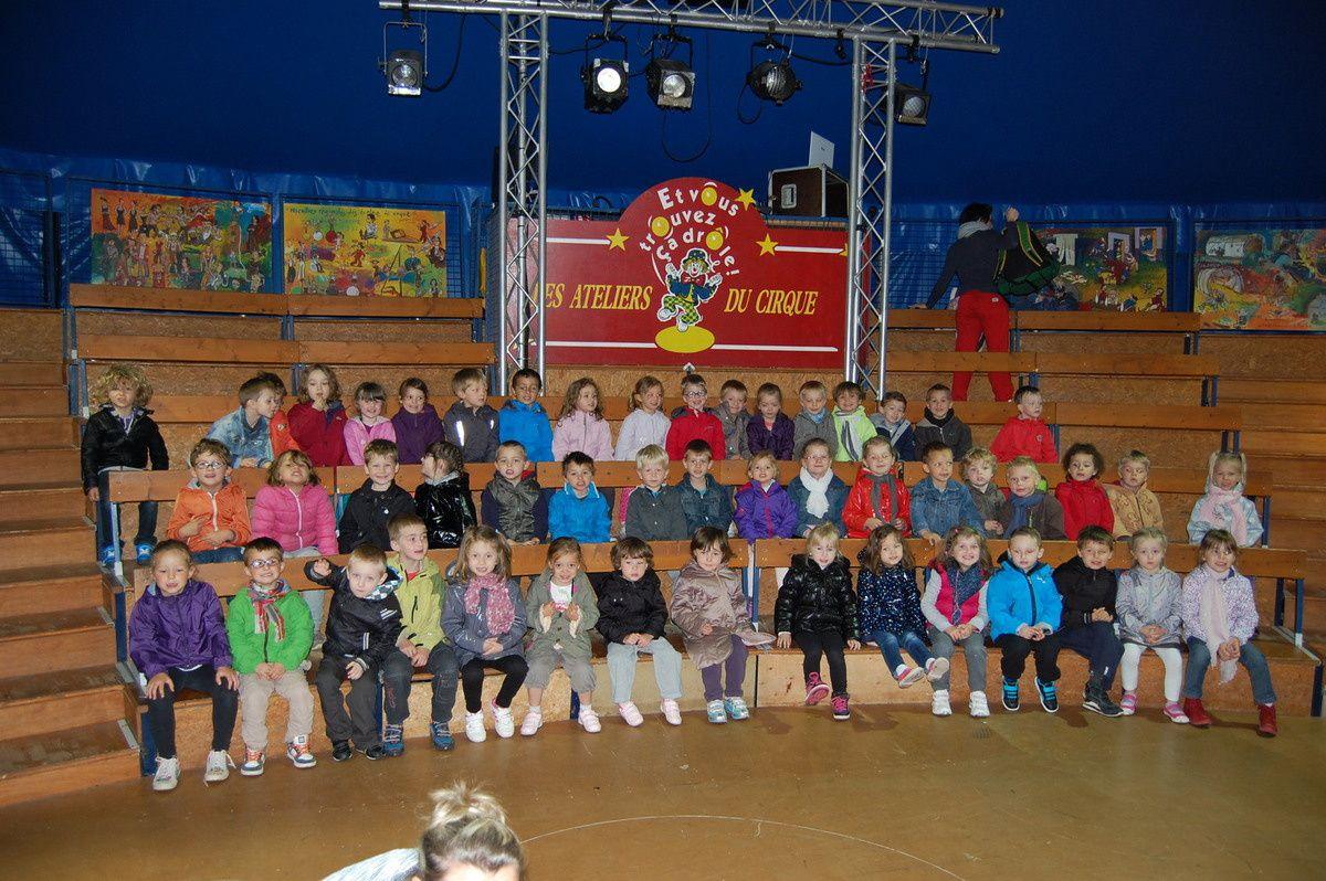 Notre sortie au cirque de Lomme