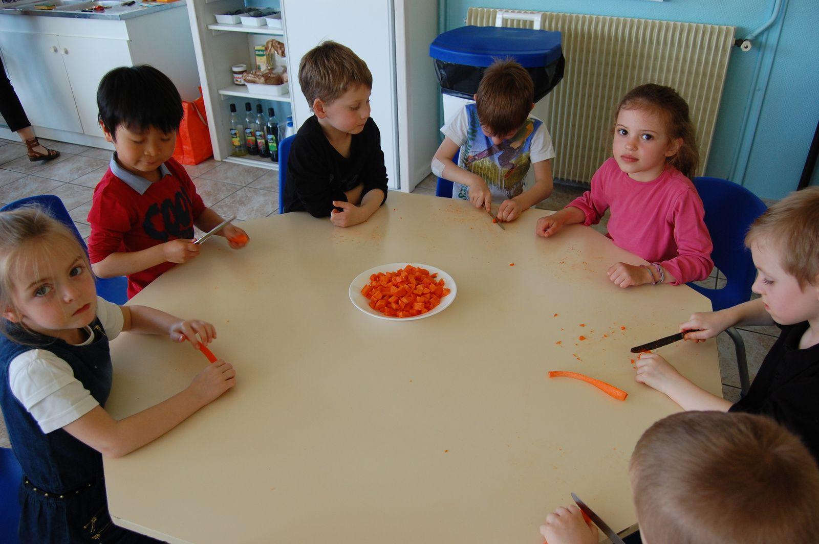 La confiture de carottes
