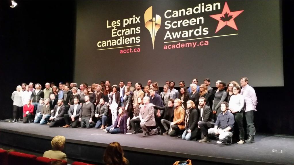 Nominations aux CDN Screen Awards 2016
