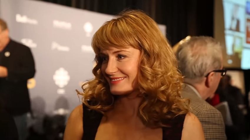 Hélène Joy aux Canadian Screen Awards 2014
